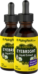 Eyebright Liquid Extract Alcohol Free 2 fl oz (59 mL) Compte-gouttes en verre