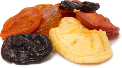Fancy Mixed Dried Fruit 1 lb (454 g) Bag
