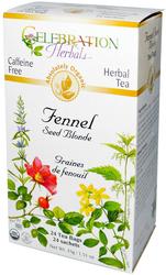 Fennel Seed Blonde (Organic) Tea, 24 Tea Bags