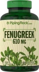 Fenugreek 610 mg, 180 Capsules