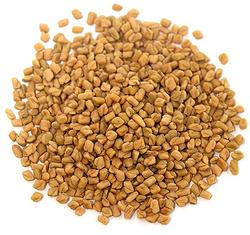 Organic Fenugreek Seeds Whole 1 lb (454 g) Bag