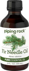 Fir Needle Essential Oil 2 fl oz (59 ml) Dropper Bottle