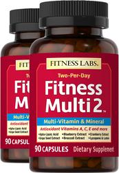 Fitness Multi 2, 90 Caps x 2 Bottles