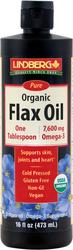 Leinsamenöl (Bio) 16 fl oz (473 mL) Flasche
