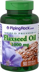 Olio di semi di lino (biologico)  90 Capsule in gelatina molle a rilascio rapido