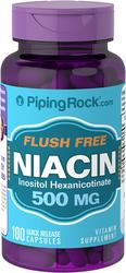 Flush Free Niacin 500 mg 100 Pills