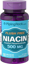 Flush Free Niacin 500 mg 100 Pills