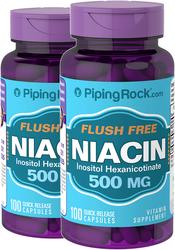 Flush Free Niacin  100 Capsule a rilascio rapido