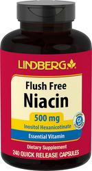Flush Free Niacin, 500 mg, 240 Quick Release Capsules