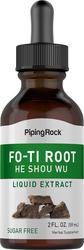 Fo-Ti-Wurzel-Flüssigextrakt (He-Shou-Wu) 2 fl oz (59 mL) Tropfflasche