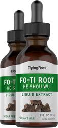 He Shou Wu Fo Ti Root Liquid Extract 2 Bottles x 2 fl oz (59 mL)