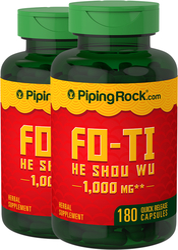Fo-Ti-Wurzel He-Shou-Wu  180 Kapseln mit schneller Freisetzung