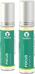 Focus Essential Oil Roll-On Blend 2 Roll-On Bottles x 10 mL (0.33 fl oz)