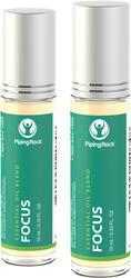 Mélange roll-on aux huiles essentielles Focus 10 mL (0.33 fl oz) Flacon à bille