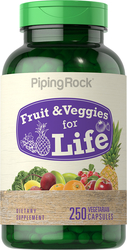 Fruit & Veggies for Life 250 Capsules