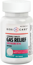 Eliminazione gas intestinali 80 mg masticabile 100 Compresse masticabili