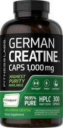 German Kreatin-Monohydrat (Creapure) 300 Kapseln