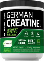 German Créatine Monohydrate(Creapure) 1.1 lb (500 g) Bouteille