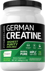 German Kreatin-Monohydrat (Creapure) 2.2 lb (1000 g) Flasche
