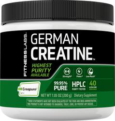 German Créatine Monohydrate(Creapure) 7.05 oz (200 g) Bouteille