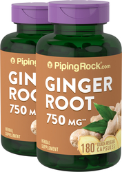 Ginger Root 550 mg 2 Bottles x 180 Pills
