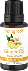 100% Pure Ginger Root Essential Oil 1/2 oz (15 ml) Dropper Bottle