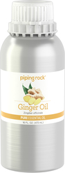 Ginger Root Pure Essential Oil (GC/MS Tested), 16 fl oz (473 mL) Canister