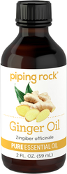 Ginger Root Essential Oil (GC/MS Tested), 2 fl oz (59 mL)