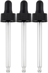 Buy Glass Dropper 3 Pack (Fits 2 oz/59 mL Bottles)