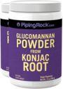 Glucomannan Powder (Konjac Root), 12 oz (340 g) Powder x 2 Bottles