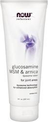 Loción de liposoma con glucosamina, MSM y Arnica 8 oz Tubo