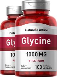 Glyzin  100 Kapseln mit schneller Freisetzung