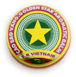 Golden Star Balm 3 g (0.11 oz) Container