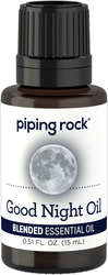 Aceite esencial Good Night 1/2 fl oz (15 mL) Frasco con dosificador