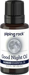 Huile essentielle favorisant le sommeil 1/2 fl oz (15 mL) Compte-gouttes en verre
