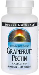 Grapefruit Pectin 1000mg 120 Capsules