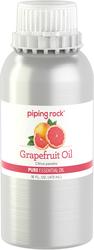 Huile essentielle pure au pamplemousse (Rose) (GC/MS Testé) 16 fl oz (473 mL) Bidon
