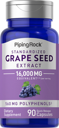 Grape seed Extract 16,000 mg 90 Capsules