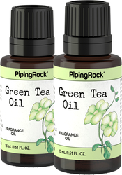 Green Tea Fragrance Oil 2 x 1/2 oz (15 ml)