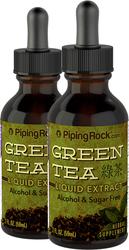 Green Tea Extract Liquid 2 x 2 fl oz (59 mL) Bottles