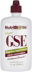 GSE Grapefruit Seed Liquid Extract 4 fl oz (118 mL) Dropper Bottle