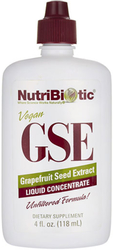 GSE Grapefruit Seed Liquid Extract 4 fl oz (118 mL) Dropper Bottle