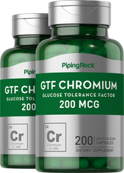 GTF-Chrom  200 Kapseln mit schneller Freisetzung