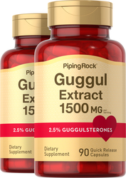 Guggul Extract 750 mg (Guggulsterones) 90 Capsules