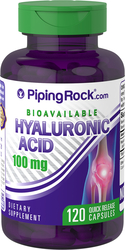 H-Joint Hyaluronsyre  120 Hurtigvirkende kapsler