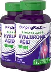 Ácido hilaurónico H-Joint  120 Cápsulas de liberación rápida
