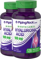 H-blandad hyaluronsyra  120 Snabbverkande kapslar