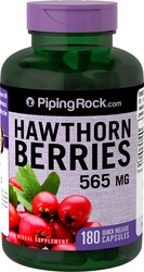 Hawthorn Berries 565 mg 180 Capsules
