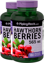 Hawthorn Berries 565 mg 2 x 180 Capsules