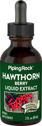 Hawthorn Berry Liquid Extract Alcohol Free 2 fl oz (59 mL)